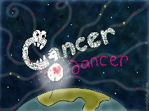 cancer dancer original image by Alexa Allen