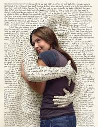 words hugging