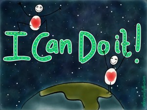 I can do it  - original image by alexa allen